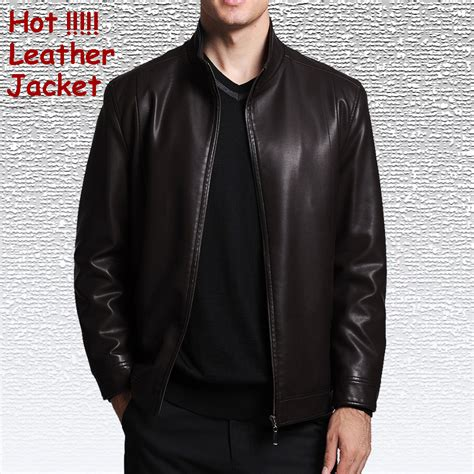Jaket Kulit Leather Jacket Free Costum Size Xl new 2016 autumn and winter casual jacket high quality