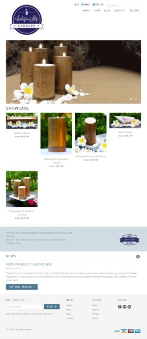 soy candles website templates ecommerce soy candles