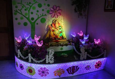 Garden Decoration For Ganpati by 7 Best Images About Ganapati Decoration Ideas On