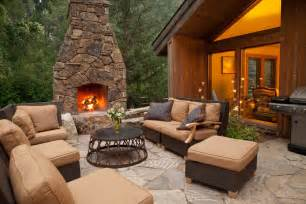 Outdoor Patio Designs With Fireplace Backyard Patio Designs With Fireplace