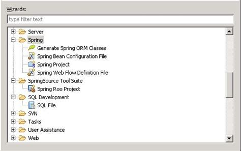 eclipse springsource tool suite missing spring mvc