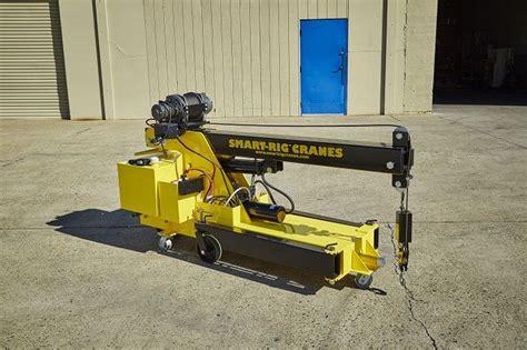 S1 Model Smart Rig Crane Compact Mini Crane Is Narrow To