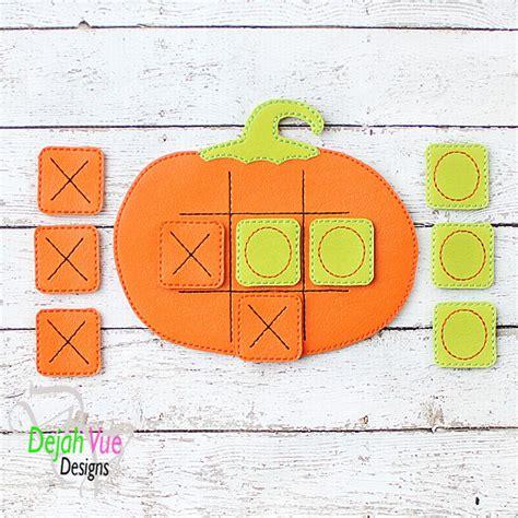 design tic tac indonesia pumpkin tic tac toe design