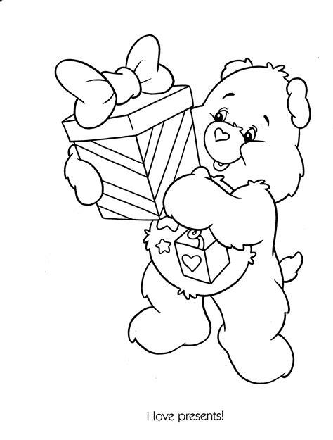 birthday bear coloring page 92 birthday bear coloring page beautiful teddy bear