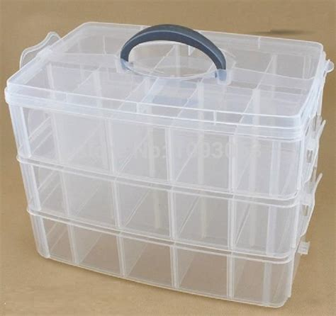 bead organizer box storage organizer box removable with lid tool