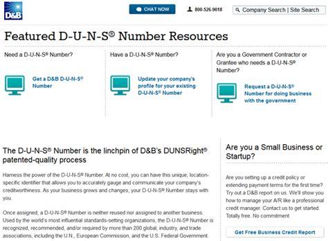 Duns Number Lookup Duns Number Dun Bradstreet Pdf