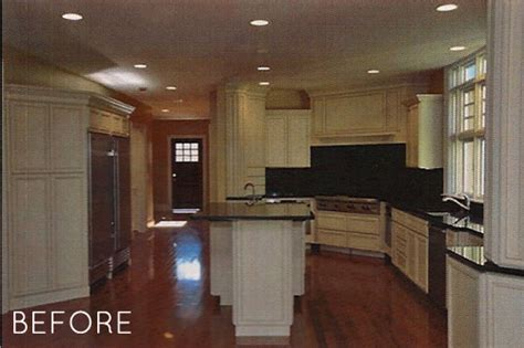 Kitchen And Dining Room Makeover Before After High End Kitchen Dining Room Makeover