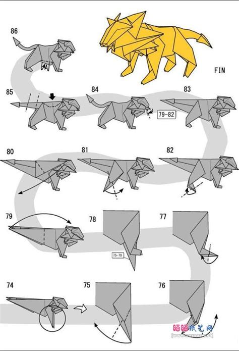 Origami Animals Diagrams - the 25 best origami ideas on origami