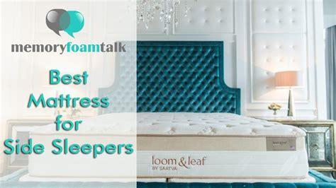 Mattress For Side Sleeper by Best Mattress For Side Sleepers Reviews I Best Firm Mattress