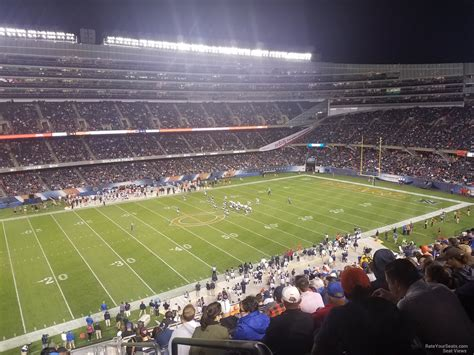 soldier field section 433 soldier field grandstand photo autos post