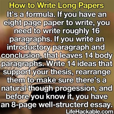 Essay Writing Formula by Essay Formula Studying