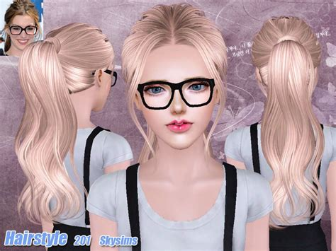 sims 3 custom content females hair bow skysims hair 201