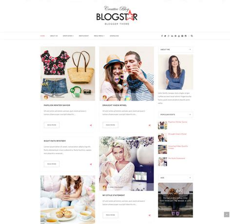 html templates for blogger free download 25 free responsive blogger templates 2016 free download