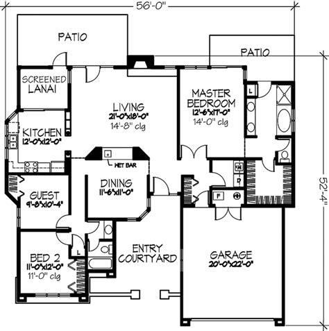 mediterranean style house plan 3 beds 2 baths 1250 sq ft mediterranean style house plan 3 beds 2 baths 1709 sq ft