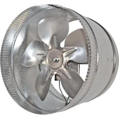 suncourt inductor 10 in in line duct fan db210 the home