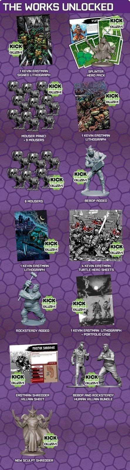 Tmnt Shadow Of The Past Boardgame mutant turtles shadows of the past