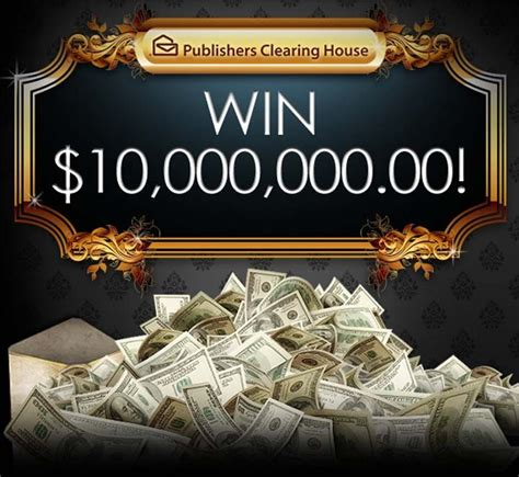 Publishers Clearing House Superprize - publishers clearing house pch 10 million superprize no 8800 sweepstakes pit