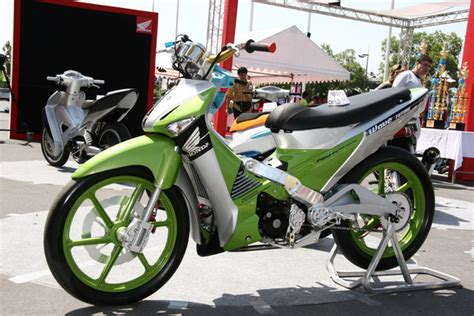 Keranjang Supra X 125 modifikasi motor mobil image modification supra x 125cc
