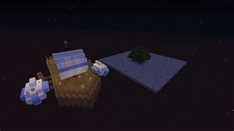 floating boat with island minecraft project - Floating Boat In Minecraft