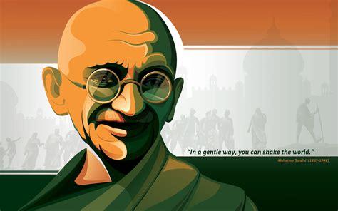 wallpaper mahatma gandhi tricolor popular quotes hd