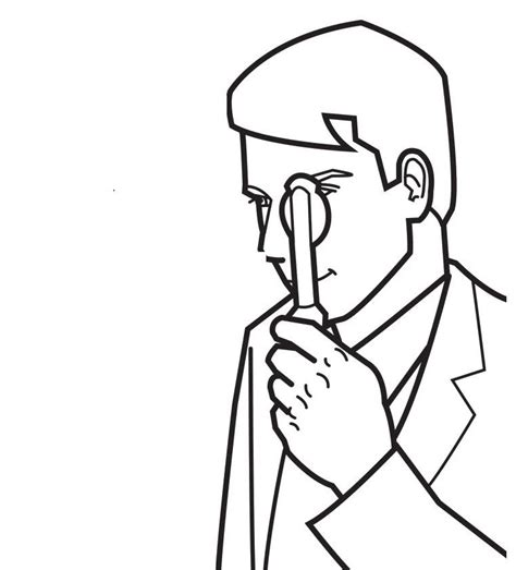 coloring pages eye doctor eye doctor coloring page coloring home