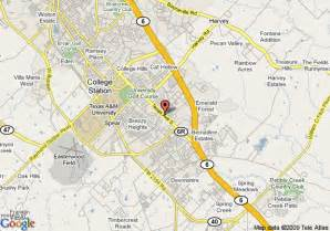 map of college station days inn bryan college station