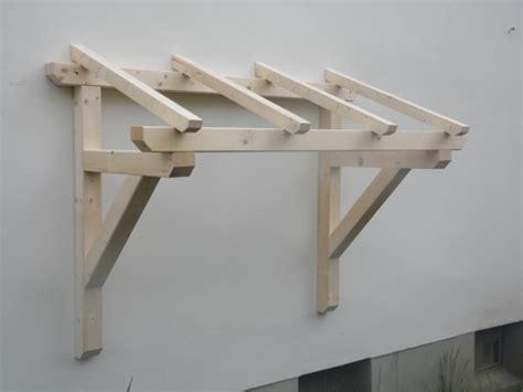 vordach holz holz vordach pultvordach massivholz haust 252 r 220 berdachung