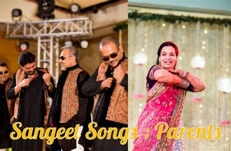 Wedding Songs For Parents by Sangeet Diaries Songs For The Parents Of The Groom
