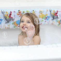 sesame street inflatable bathtub child safety on pinterest childproofing safety and