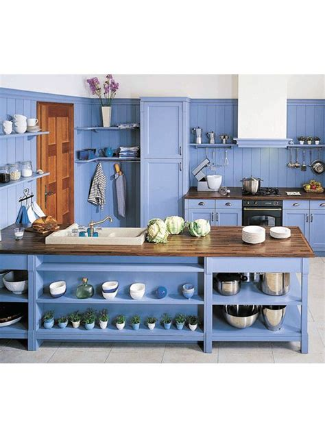 Kitchen Decoration Idea cuisine bleu 25 id 233 es d 233 co cuisine bleue