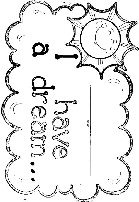 preschool coloring pages cing coloring sheets for martin luther king jr day murderthestout
