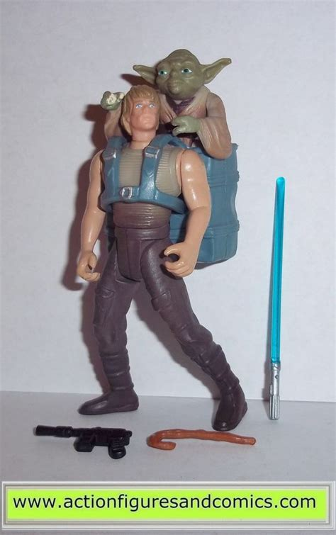 figure for sale wars figures luke skywalker yoda dagobah