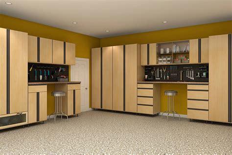 garage storage cabinets design  install closet factory