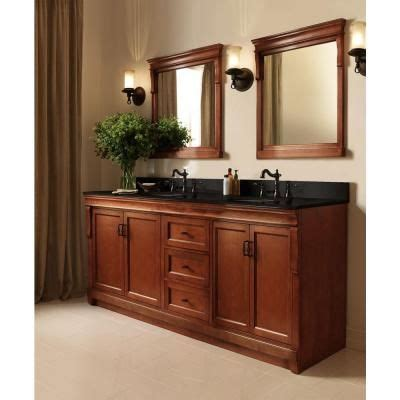 bathroom vanities naples fl naples 72 in vanity in warm cinnamon with granite vanity