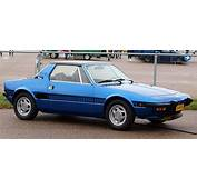 1972 1987 Fiat Bertone X19  TireBuyercom Blog