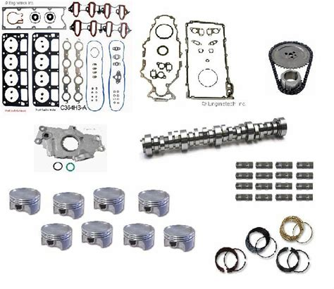 master engine rebuild kit chevy gm ls    lq vortec   ebay