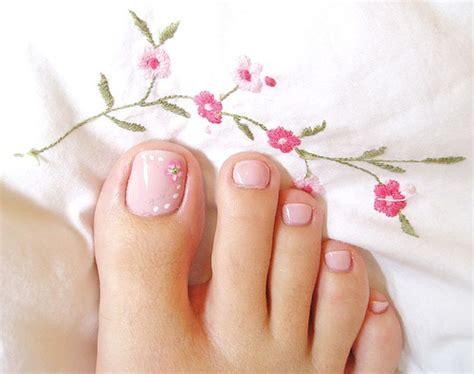 easy nail art toes simple toe nail art designs