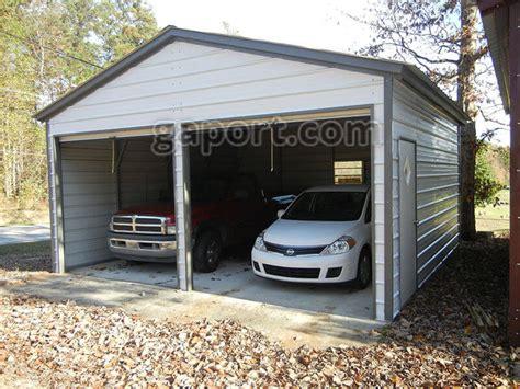 double car garage metal garage two car 2