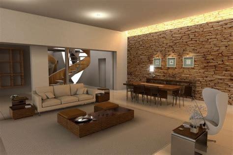 living room design style home top: der naturliche charme von echtem stein lovestylezde
