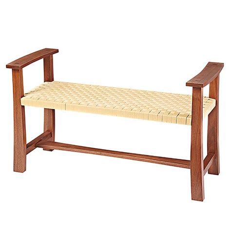 woodworking plans bench seat woven seat bench woodworking plan from wood magazine