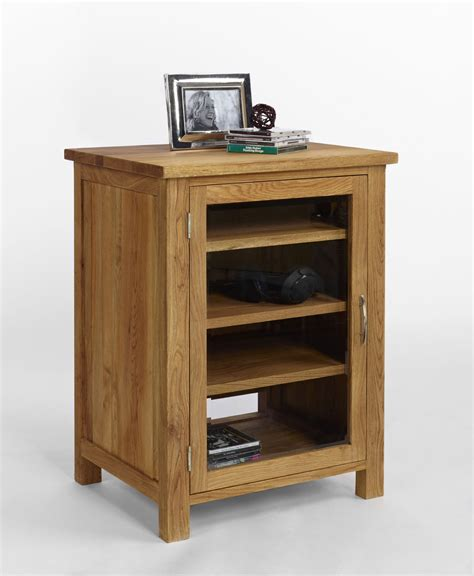 Wooden Hifi Cabinet oak hi fi cabinet oak furniture