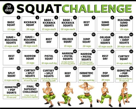 30 Day Ab And Squat Challenge Calendar ultimate companion to 30 day squat challenge tips jan