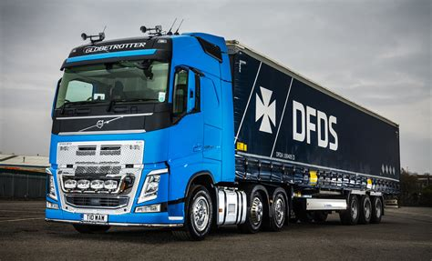 first volvo truck first new truck for coventry owner driver bill wheatley is
