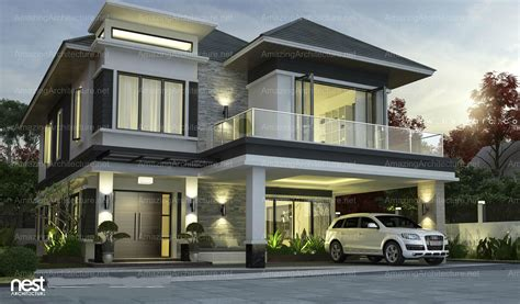 simple contemporary style villa plan remarkable modern house design amazing architecture magazine