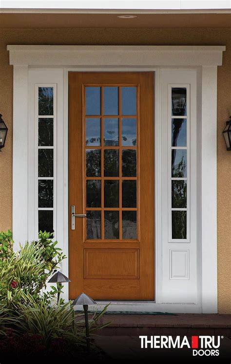 therma tru interior doors 14 best images about fiber classic oak collection on traditional satin and privacy