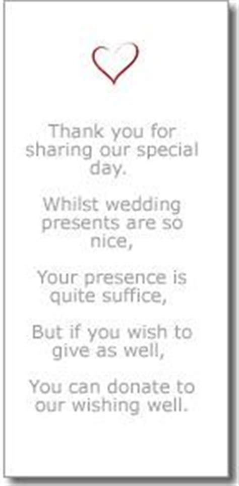 poems to say thank you for wedding gifts wedding gifts wedding gift poem and gifts on
