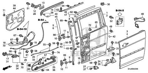 honda odyssey sliding door parts diagram sliding door stop sensor three beeps inside 2010 honda