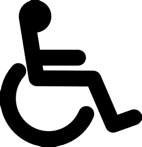 Men And Women Bathroom Sign Disabled Wheel Chair Access Sign Clip Art At Clker Com