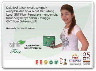 Gnt Fiber Solusi Pelangsing Alami Murah buy gnt fiber 30 sachet obat diet alami solusi ring