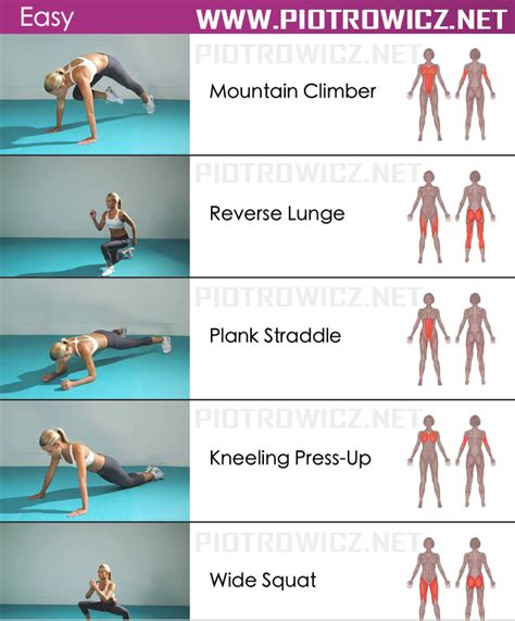 easy workout sixpack exercises healthy
